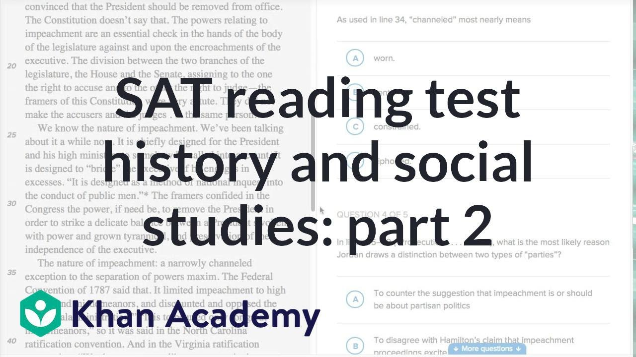 Reading: History and social studies — How-to Part 2