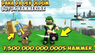3 REBIRTH ATTIM VE DEV OLDUM | Hammer Simulator #2 | Roblox Türkçe