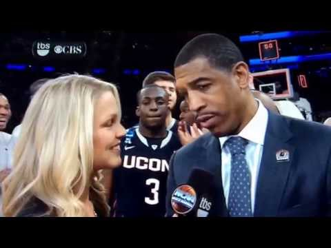 UConn Coach Celebrated Sweet 16 Win By Slapping His Own Player