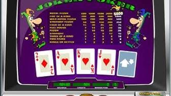 Joker Poker Video Poker at Betfair Casino