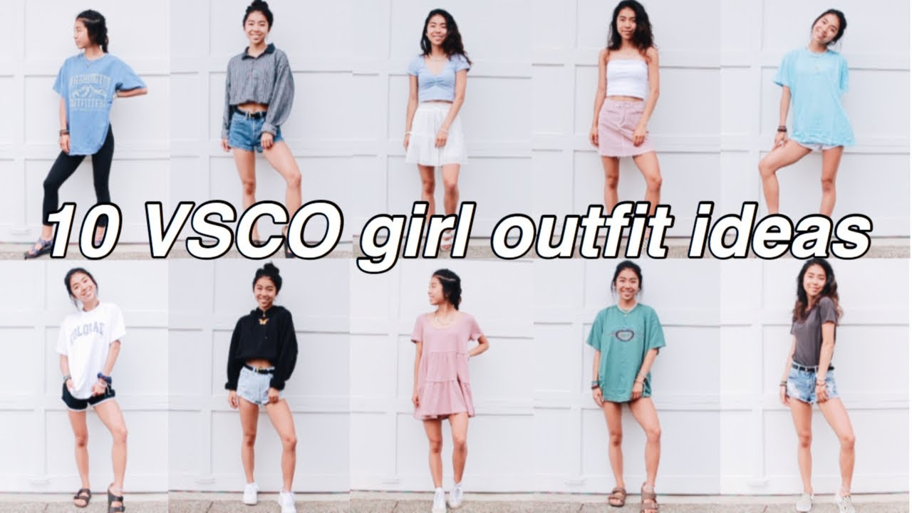 HOW TO DRESS LIKE A VSCO GIRL // 10 VSCO GIRL OUTFITS