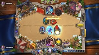 Play 50 Mage Cards(Hearthstone Gameplay) + Coldarra Drake Finisher