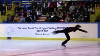 29 Shu NAKAMURA (JPN) - ISU JGP Baltic Cup 2013 Junior Men Free Ska...