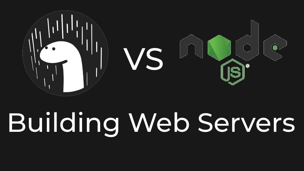 Build a Web Server | Deno vs Node