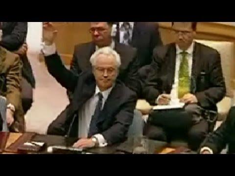 China, Russia Veto UN Resolution On Syria