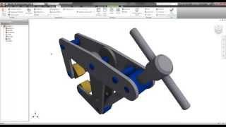Autodesk Inventor Simulation - Analisis FEA en un Ensamble