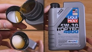 Liqui Moly 4600 top tec 5W30 original engine oil show
