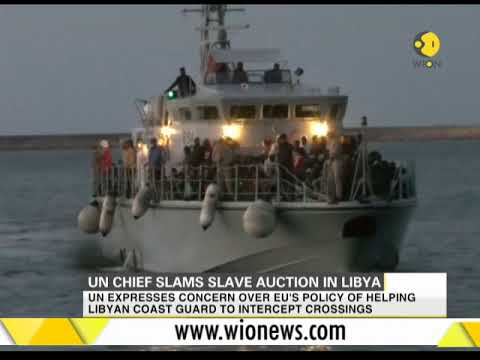 UN chief slams slave auction in Libya