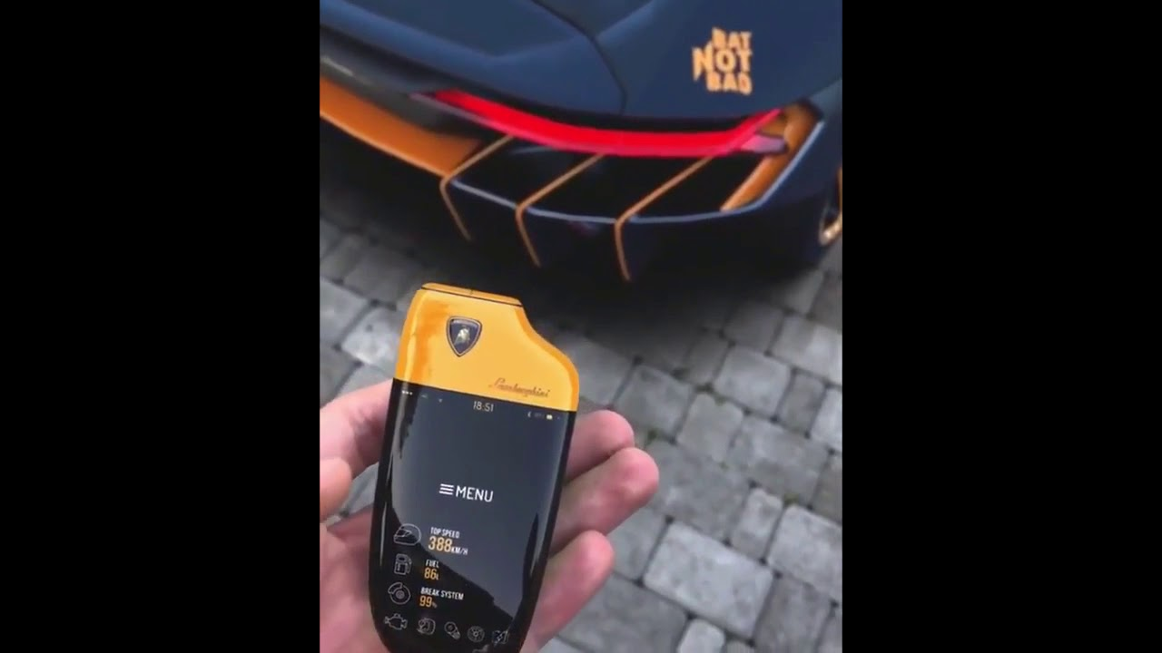 LAMBORGHINI CENTENARIO KEY REMOTE START 2019 , YouTube