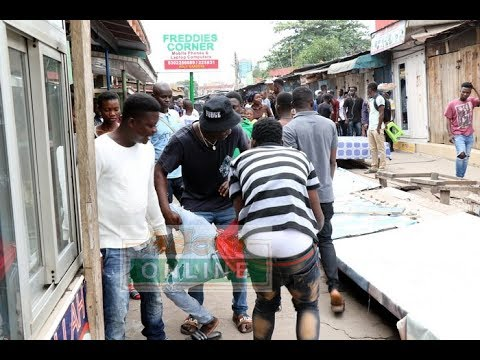 Nigerian, Ghanaian traders clash at Circle Tip Toe lane in Accra