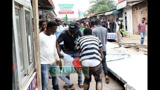 Nigerian, Ghanaian traders clash at Circle Tip Toe lane in Accra