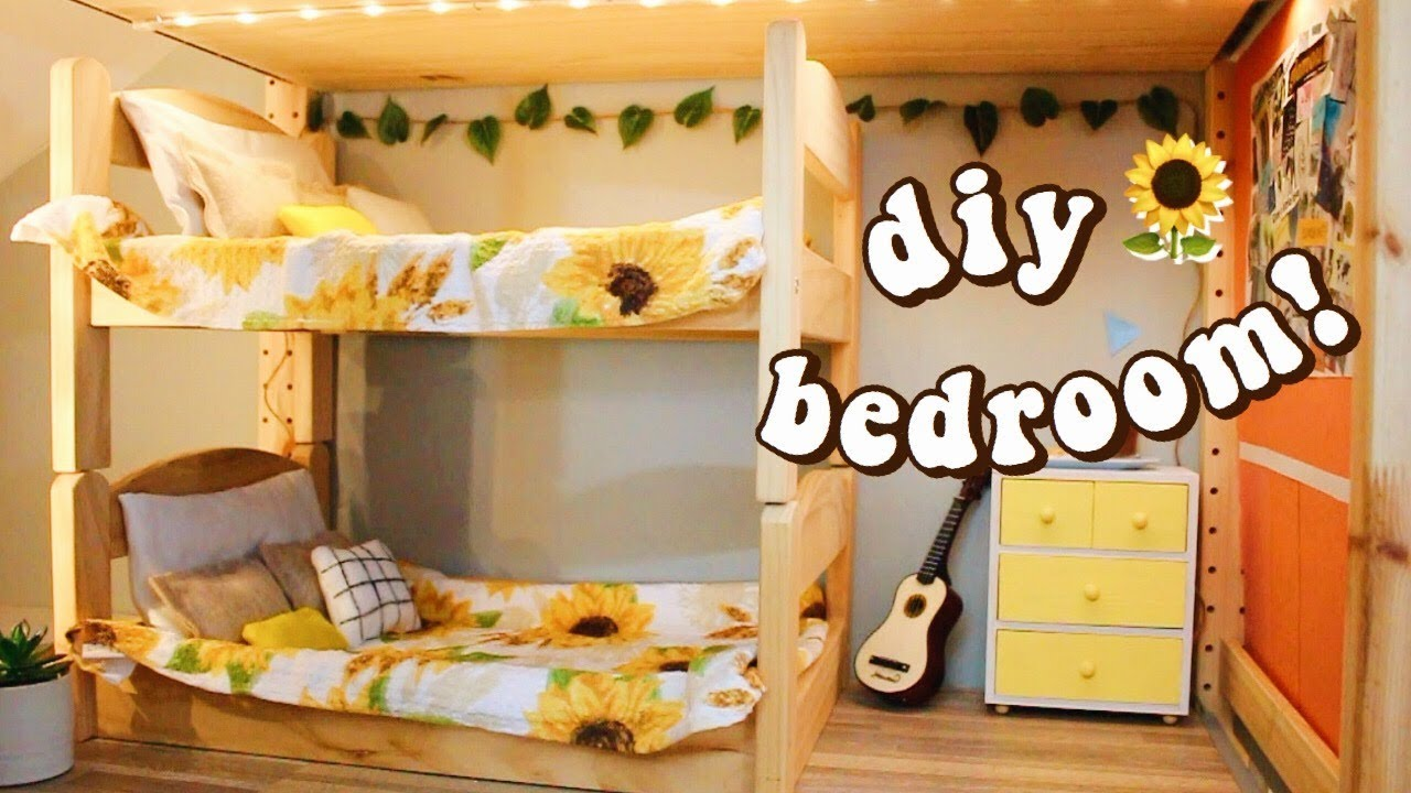 DIY AG BEDROOM 2! | how to make an american girl doll ...