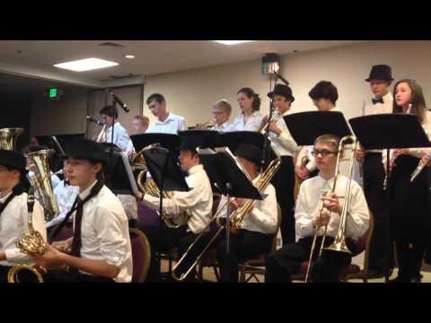"""Blevins Jazz Band - """"Crunchy Frog"""""""