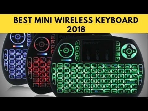 BEST MINI WIRELESS KEYBOARD FOR ANDROID TV BOX (PC, MAC, PS4) AND ALL OTHER DEVICES
