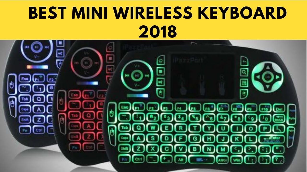 bb9339f62fb BEST MINI WIRELESS KEYBOARD FOR ANDROID TV BOX (PC, MAC, PS4) AND ALL OTHER  DEVICES
