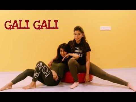KGF Gali Gali | Neha Kakkar/Tanishk Bagchi | Bollywood Dance Cover | Neha & Aradhana