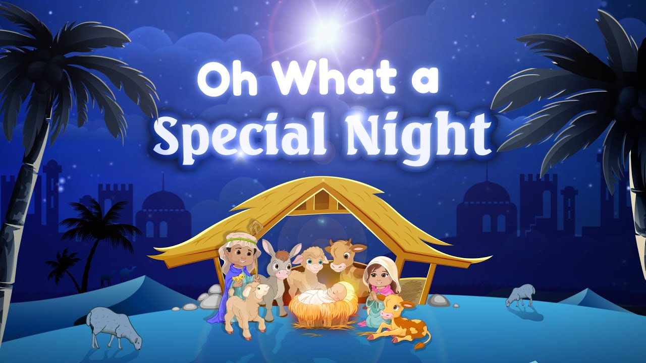 Nativity alphabet and religious songs
