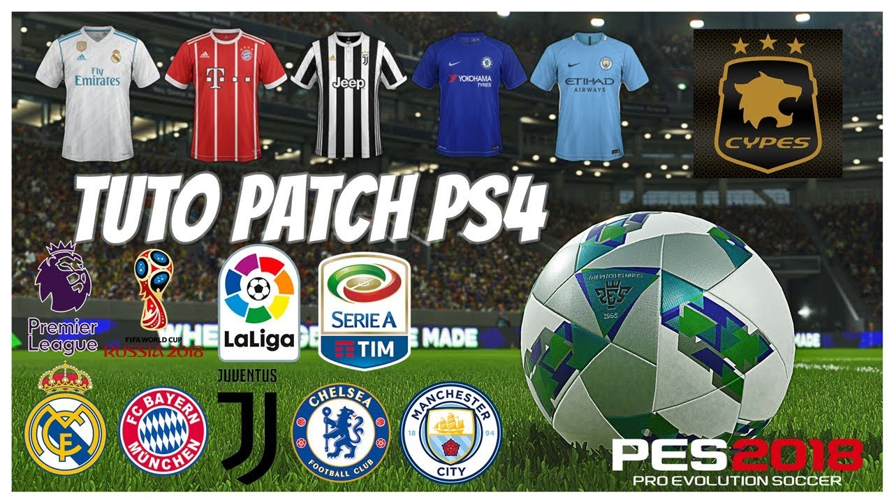 patch cypes 3.0 pes 2019 ps4