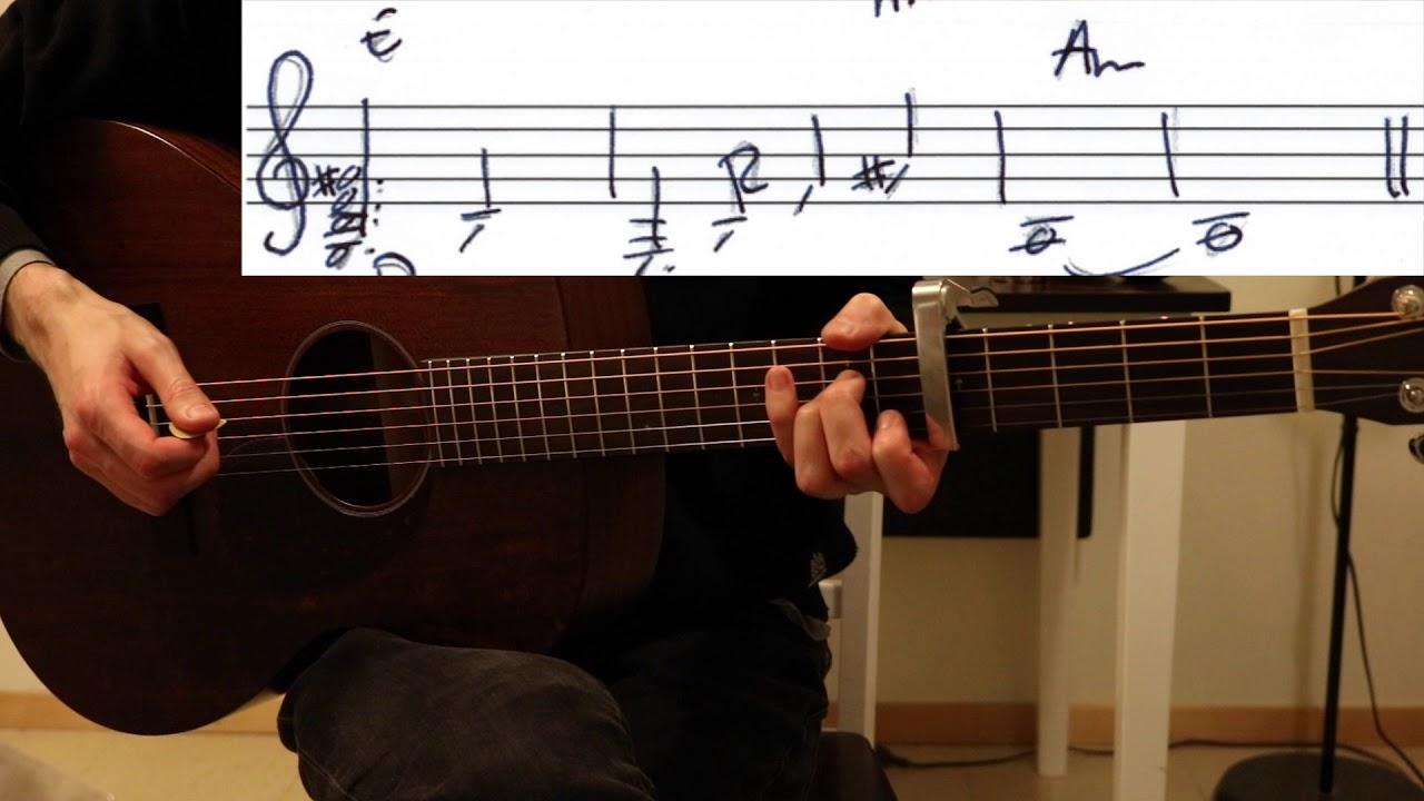 I Shall Rise Karen O Guitar Lesson Youtube