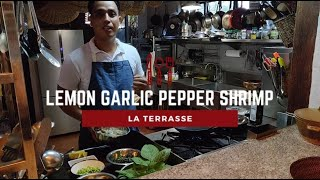 Philippine Delicacies | Lemon Garlic Pepper Shrimp