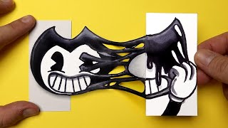 15 Amazing BENDY AND INK MACHINE Paper Craft and Doodles for FANS