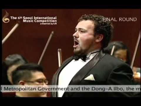 "2010 Seoul International Music Competition(Voice) ""1st Prize_Stefan Marian POP""(Final II)"