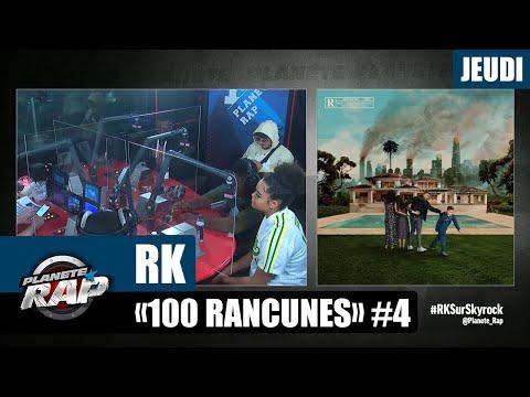 Youtube: Planète Rap – RK«100 Rancunes» avec Landy, Liim's, Victoire, DRK2BINKS, KX et Fred Musa #Jeudi