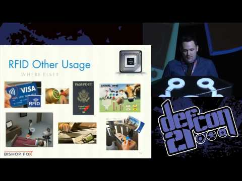 DEF CON 21 - Francis Brown - RFID Hacking Live Free or RFID Hard