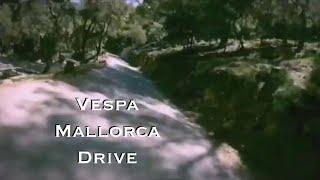 Mallorca Spain Vespa Motorcycle Mountain Drive - GoPRO