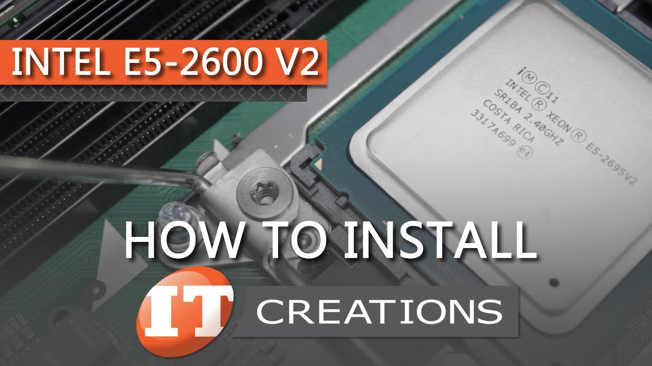 How To Upgrade DELL AND HP SERVERS to Intel E5-2600 V2 Processors ( IT Creations, Inc )