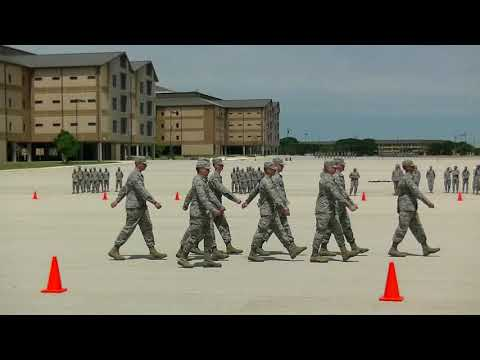 37th Training Group's Drill Down Competition, 14 April 2018 (Part 2 of 5)