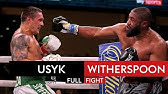 Oleksandr Usyk's heavyweight debut 💪| Oleksandr Usyk vs Chazz Witherspoon | Full Fight