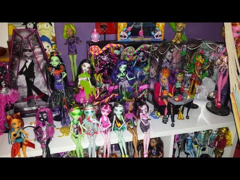 Monster High Puppen Sammlung deutsch  YouTube