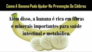 Pernas com nas ajudarão bananas cãibras
