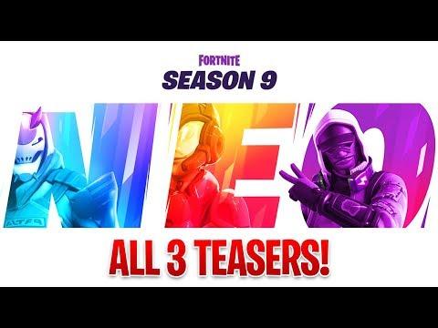 SEASON 9 TEASER 3 in Fortnite Battle Royale! (Fortnite Season 9)
