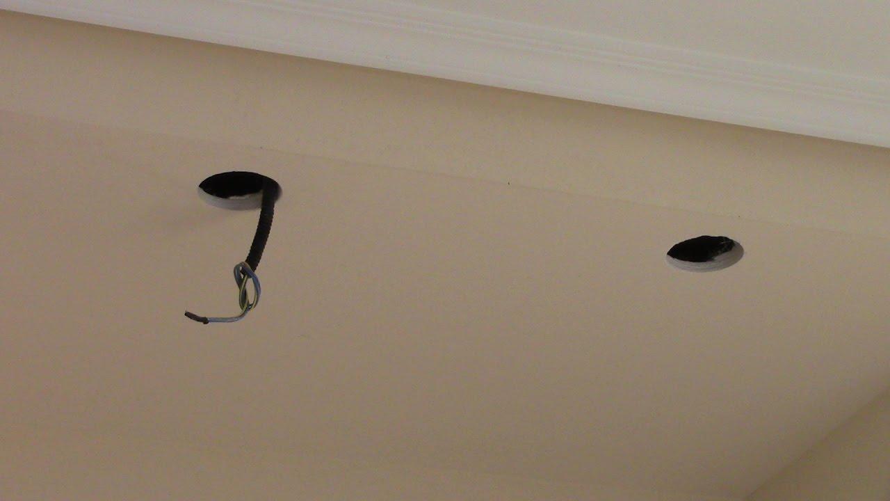 puntos de luz techo