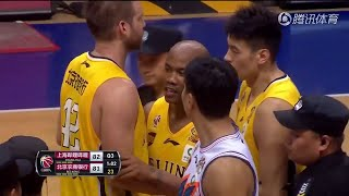 Stephon Marbury and Jimmer Fredette fight in China **~~~@@@@