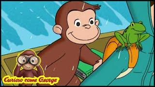 Curioso come George 🐵La scimmia volante - Episodio completo🐵Cartoni per Bambini 🐵George la Scimmia