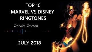 Marvel VS DC | Top 10 Ringtones | july 2018