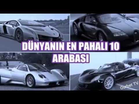 Dunyanin En Pahali 10 Arabasi.