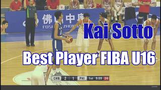 Kai Sotto is BEST UNDER 16 PLAYER IN ASIA