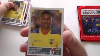 UNBOXING: 10 paquetes PANINI Copa América 2015