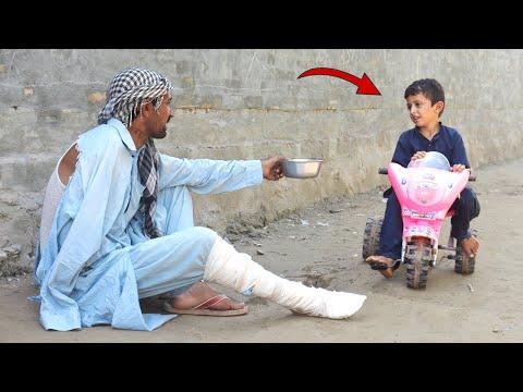 Faqeer aur bicycle wala || Social Message Short Film by PEEP PEEP