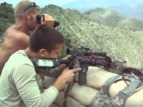 Long Range Shooting M4 Carbine 1100m