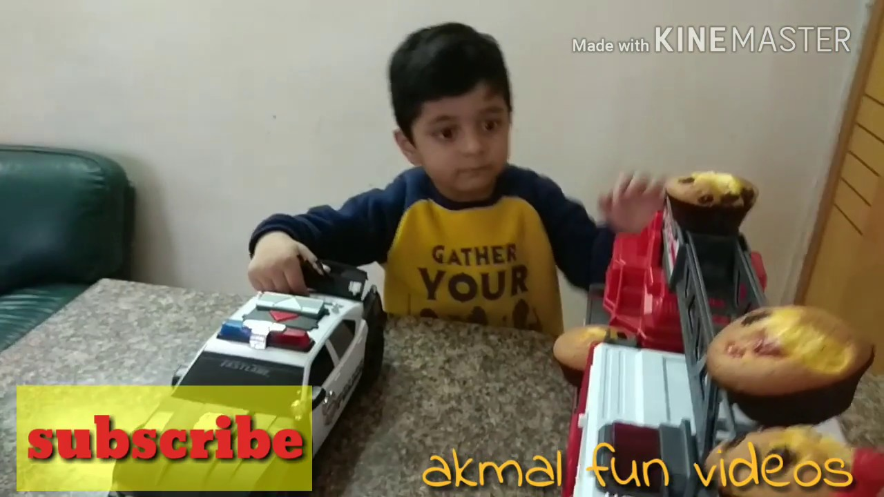 Muffin man song || Akmal Fun Videos||Love Ryan Toys & Blippi Toys