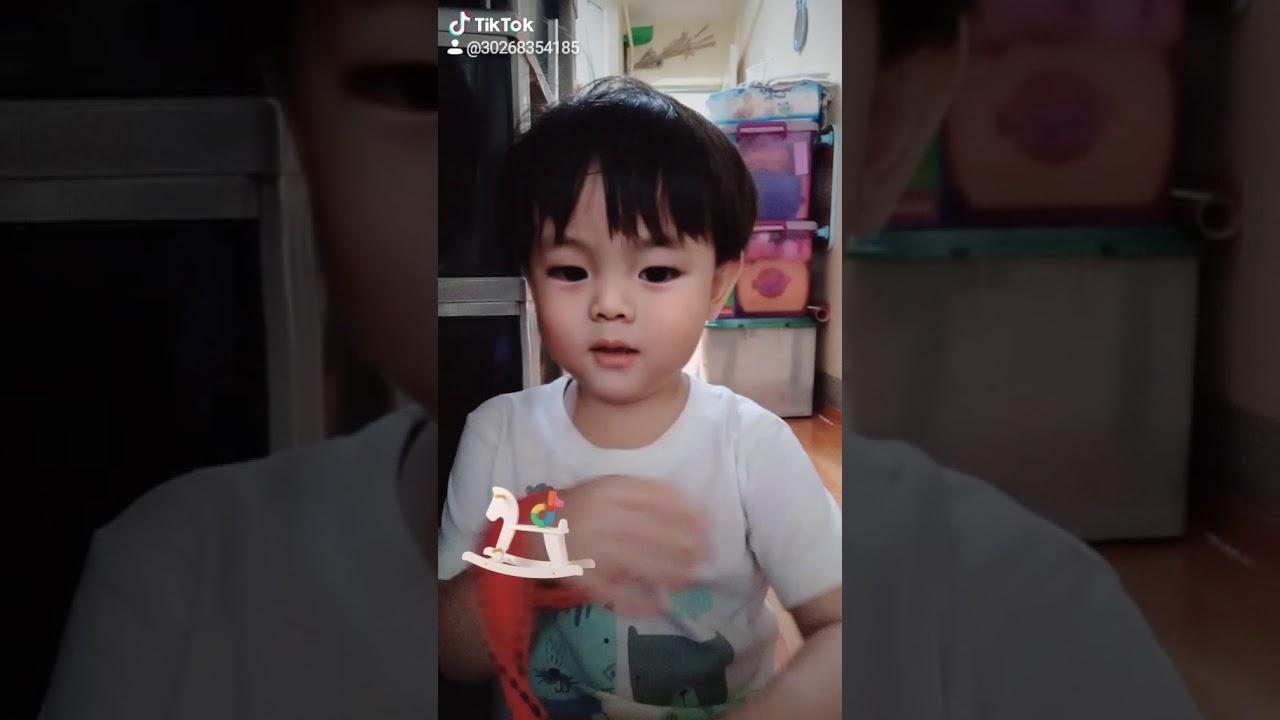 Tiktok cute baby - YouTube