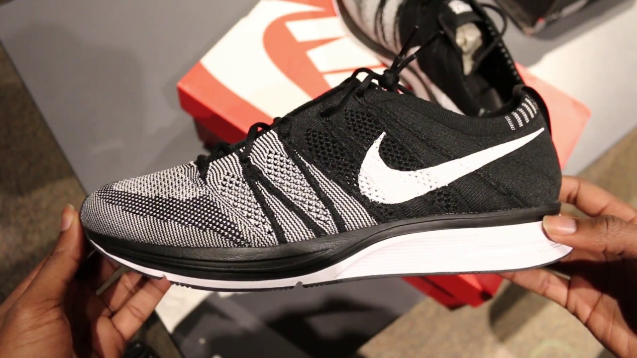 794b728741355 NIKE FLYKNIT TRAINER OREO REVIEW - YouTube