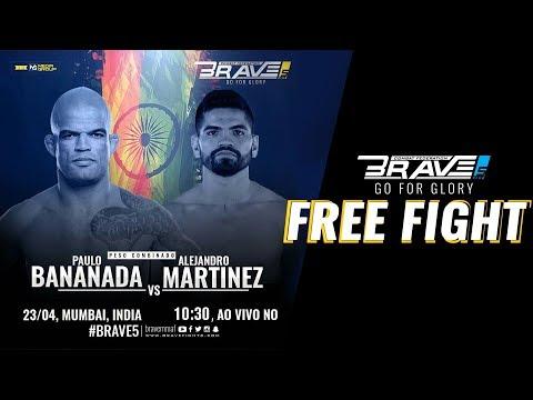 BRAVE 5 FREE FIGHT: Paulo