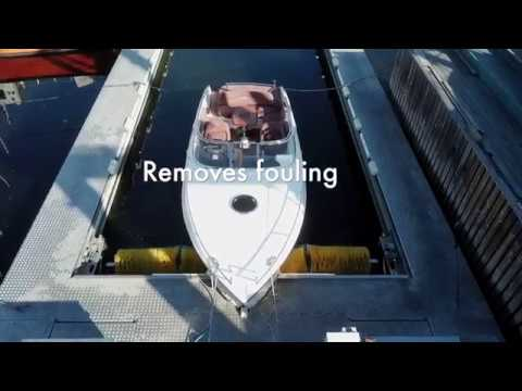 Hull cleaning made easy - Drive-in Boatwash