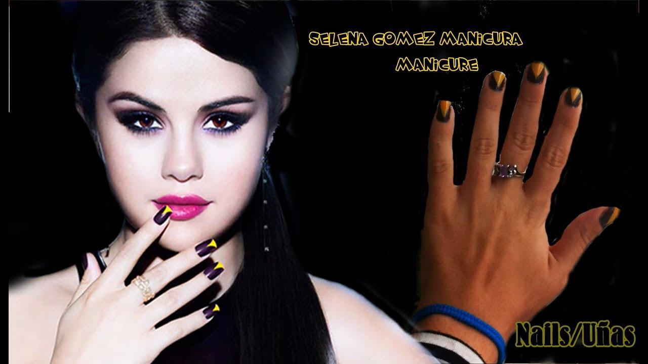 u241as inspiradas selena gomez selena gomez nails inspired